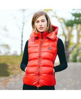 Пуховый жилет Snowman New York 'Original 881NF' красный