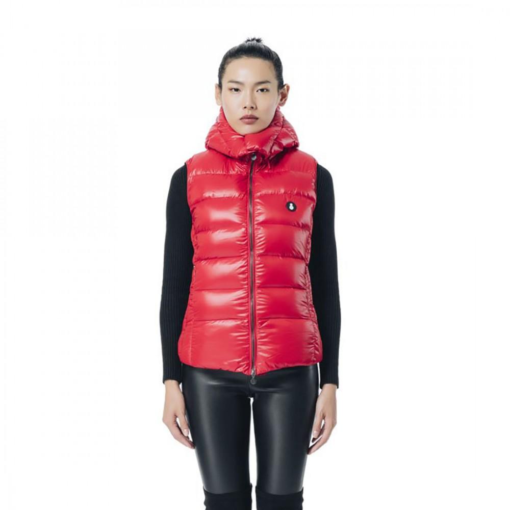 Пуховый жилет Snowman New York 'Original 881NF' красный - Фото 2