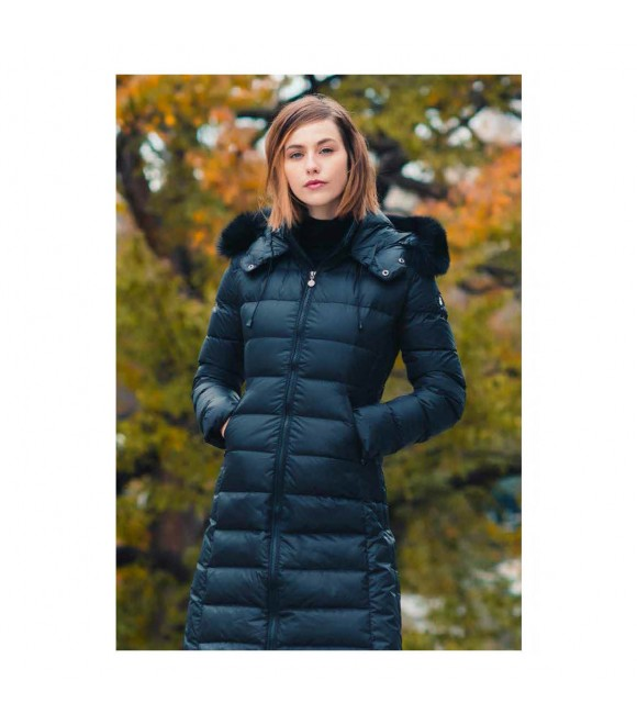 Пуховое пальто Snowman New York 'Original 883' в цвете королевский синий