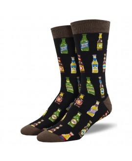 Мужские носки Socksmith «99 бутылок» бамбуковые