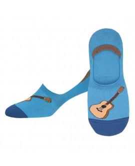 Мужские носки Socksmith «Акустические гитары» голубые