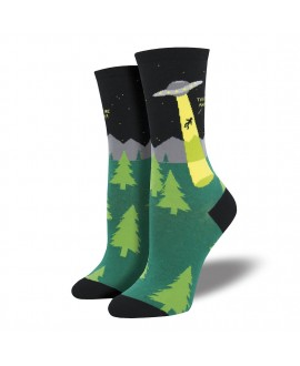 Женские носки Socksmith «Похищение пришельцами»