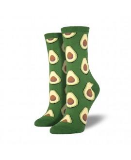 Женские носки Socksmith «Авокадо» зеленые