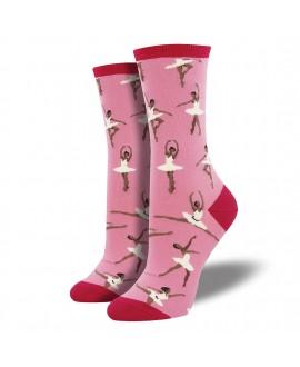 Носки Socksmith «Балет» ягодные