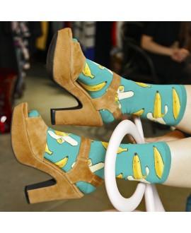 Женские носки Socksmith «Бананы»