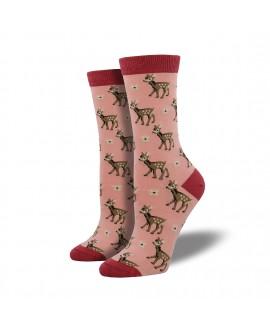 Женские носки Socksmith «Олени» бамбуковые