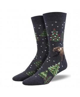 Мужские носки Socksmith «Медвежье Рождество»