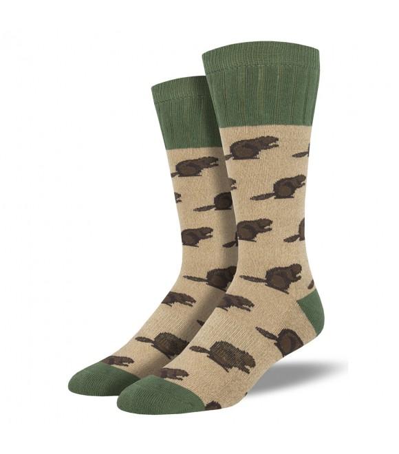 Мужские носки Socksmith «Бобры» (Outlands)
