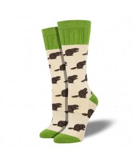 Женские носки Socksmith «Бобры» (Outlands)