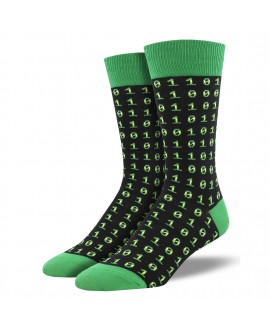 Мужские носки Socksmith «Двоичный код»