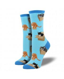 Женские носки Socksmith «Кот в коробке»