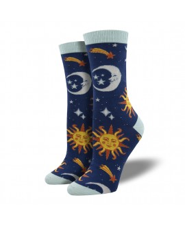 Женские носки Socksmith «Ясное небо» синие