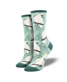 Женские носки Socksmith «Какаду» зеленые