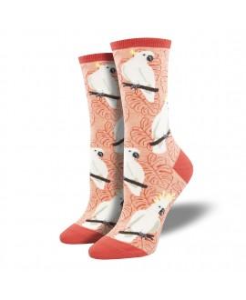 Женские носки Socksmith «Какаду» персиковые