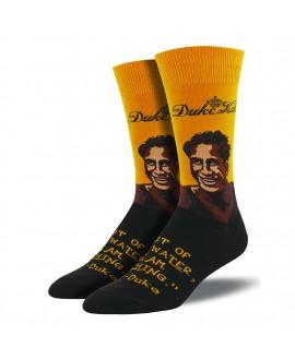 Мужские носки Socksmith «Портрет Дюка» желтые