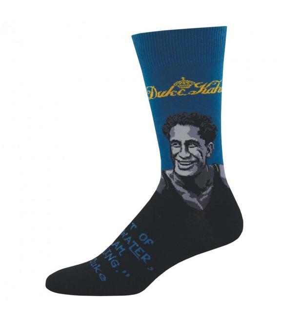 Мужские носки Socksmith «Портрет Дюка» синие