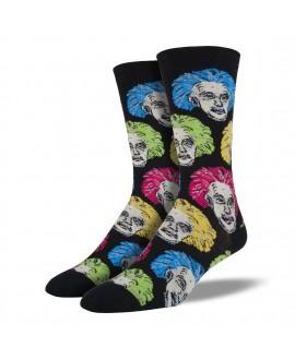 Мужские Носки Socksmith «Эйнштейн» разноцветные