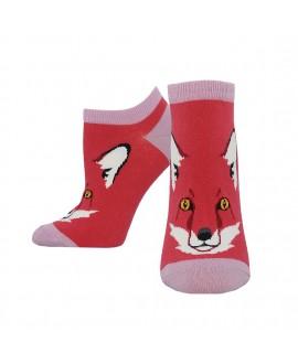 Женские носочки Socksmith «Ради лисы» красные