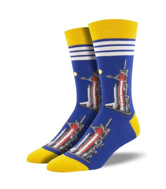 Мужские носки Socksmith «Запуск в полнолуние»