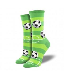 Женские носки Socksmith «Гол» зеленые