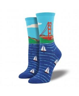 Женские носки Socksmith «Golden Gate Bridge»