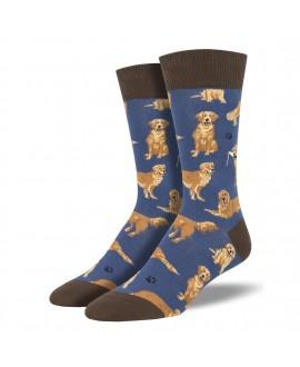 Мужские носки Socksmith «Золотистые ретриверы»