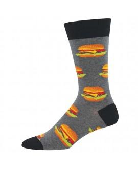 Мужские носки Socksmith «Бургеры» (King Size)