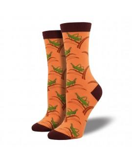 Женские носки Socksmith «Кузнечик» бамбуковые