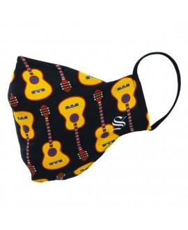 Маска Socksmith «Гитары»