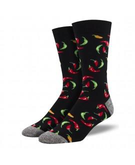 Мужские носки Socksmith «Перцы» бамбуковые
