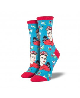 Носки Socksmith «Портрет Фриды» голубые