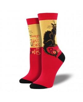 Женские носки Socksmith «Чёрный кот» бамбуковые