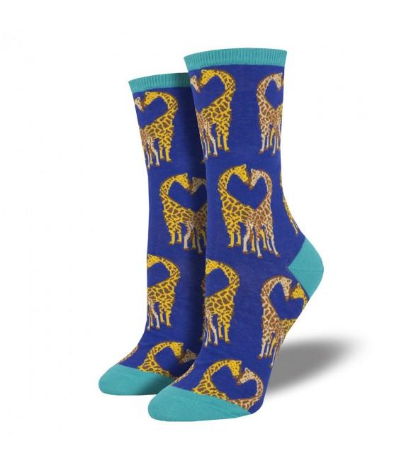 Женские носки Socksmith «Жирафы» синие