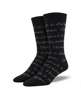 Мужские носки Socksmith «У меня есть мечта»