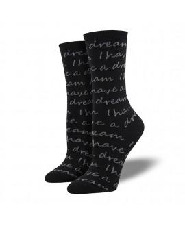 Женские носки Socksmith «У меня есть мечта»