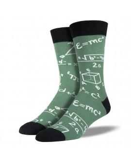 Мужские носки Socksmith «Теоремы» зеленые