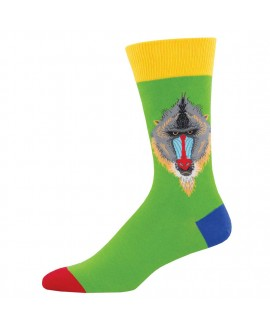 Мужские носки Socksmith «Мандрил» зеленый