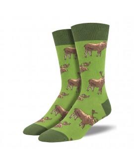 Мужские носки Socksmith 'Moose On The Loose'