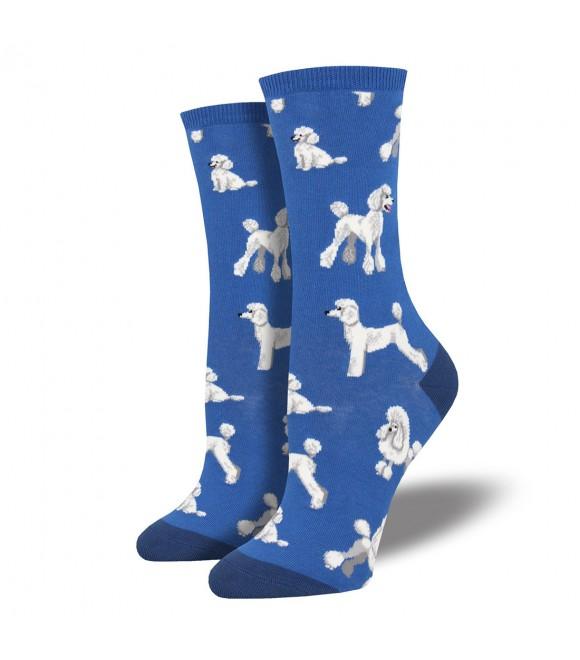 Женские носки Socksmith «Пудели» синие