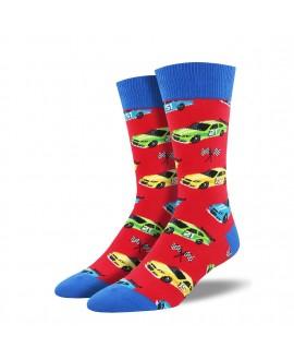 Мужские носки Socksmith «Пит-стоп» красные
