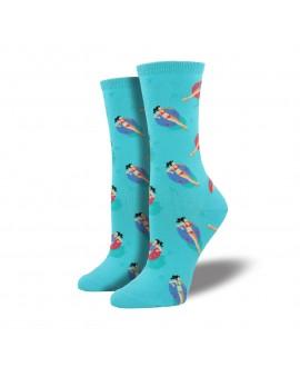 Женские носки Socksmith «Бассейн» бирюзовые