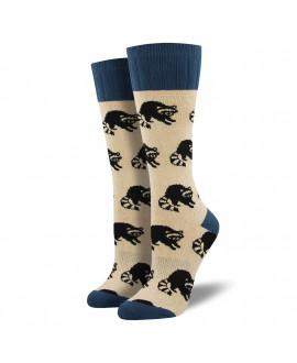 Женские носки Socksmith «Еноты» (Outlands)