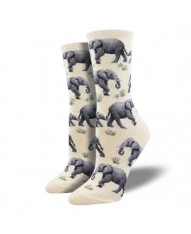 Женские носки Socksmith «Слоны»