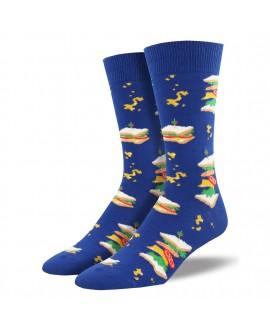 Мужские носки Socksmith «Сэндвичи» синие