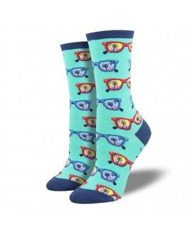Женские носки Socksmith «Пляж» мятные