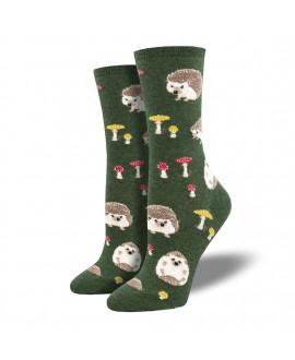 Женские носки Socksmith «Слоупок» зеленые
