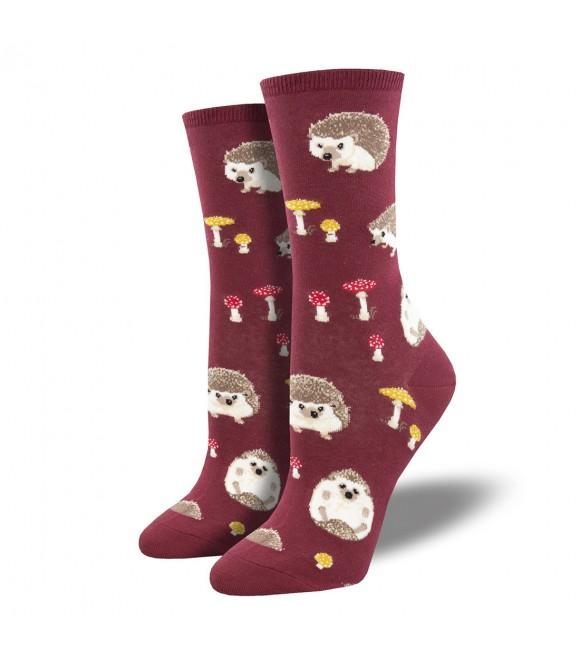 Женские носки Socksmith «Слоупок» красные
