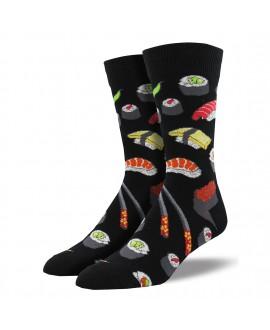 Мужские носки Socksmith «Суши» чёрные