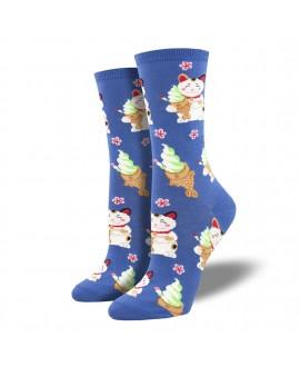 Женские носки Socksmith «Кот с тайяки»
