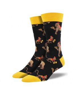 Мужские носки Socksmith «This Band is Bananas»
